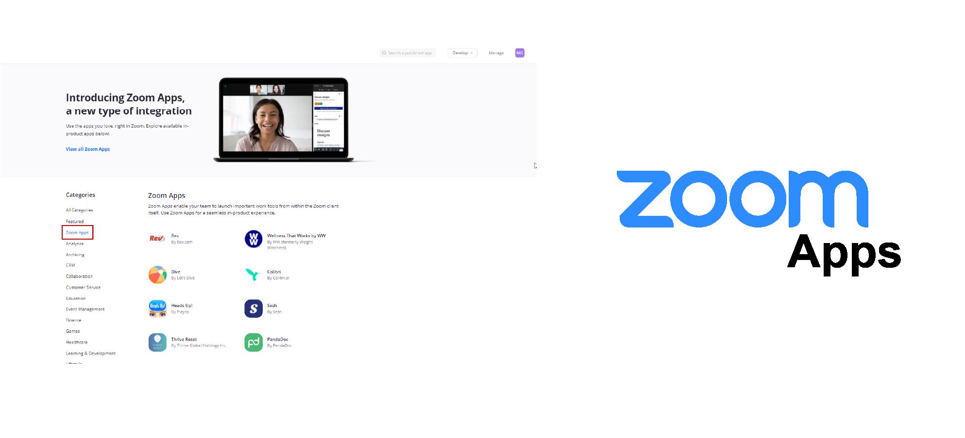 Zoom Apps, Zoom, Actualizaciones, novedades
